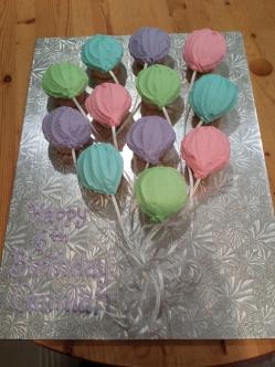 Balloon Cupcakes