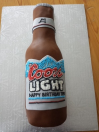 Coors Cake