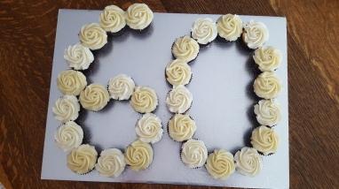 60th Anniv Cupcakes