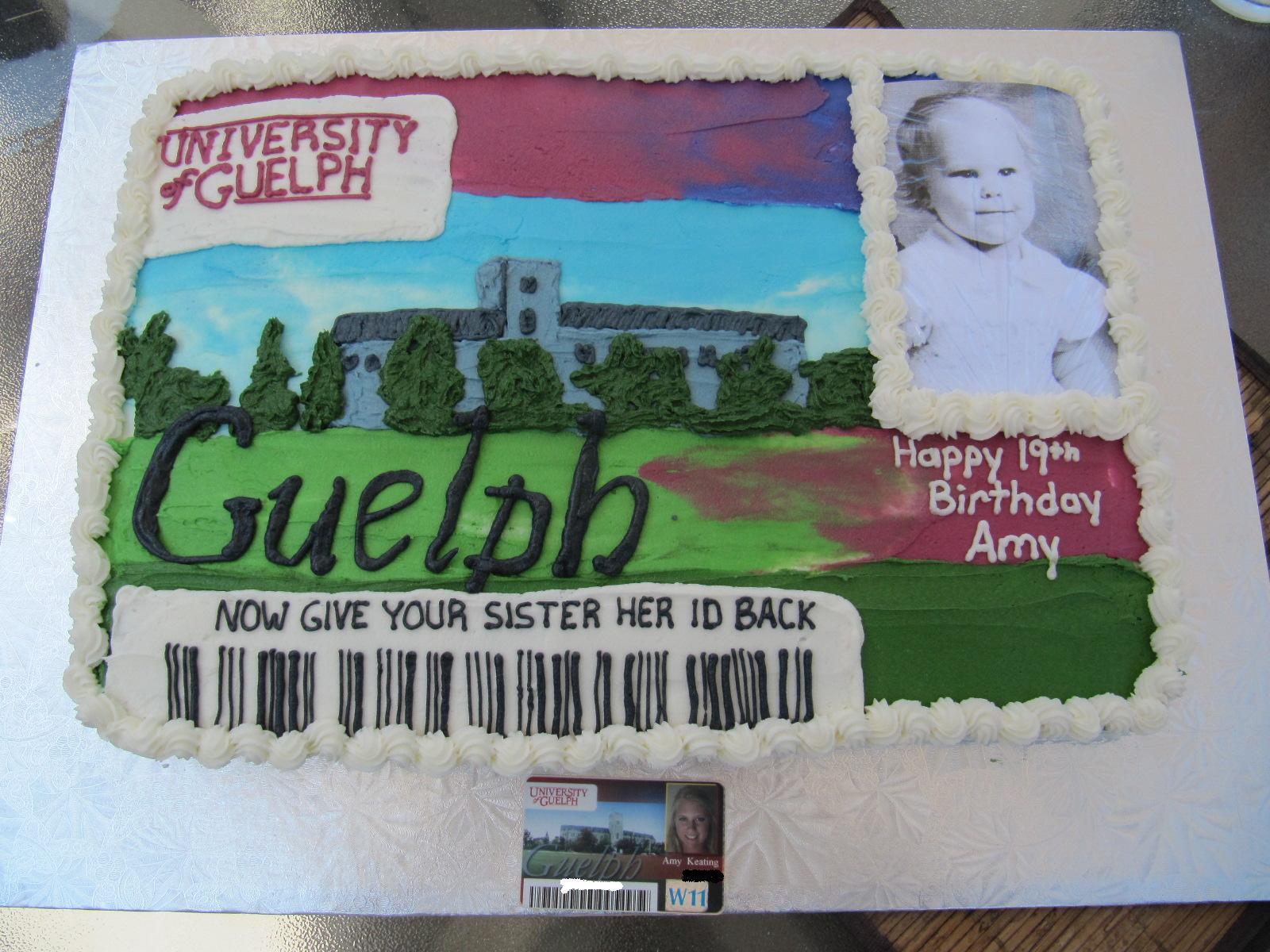 19th Birthday Cake Ericas Edibles