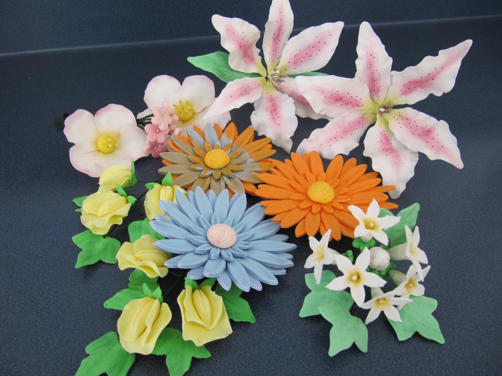 Sugar Paste Cake Decorating Wilton Advanced Gum Paste Flowers Ericas Edibles