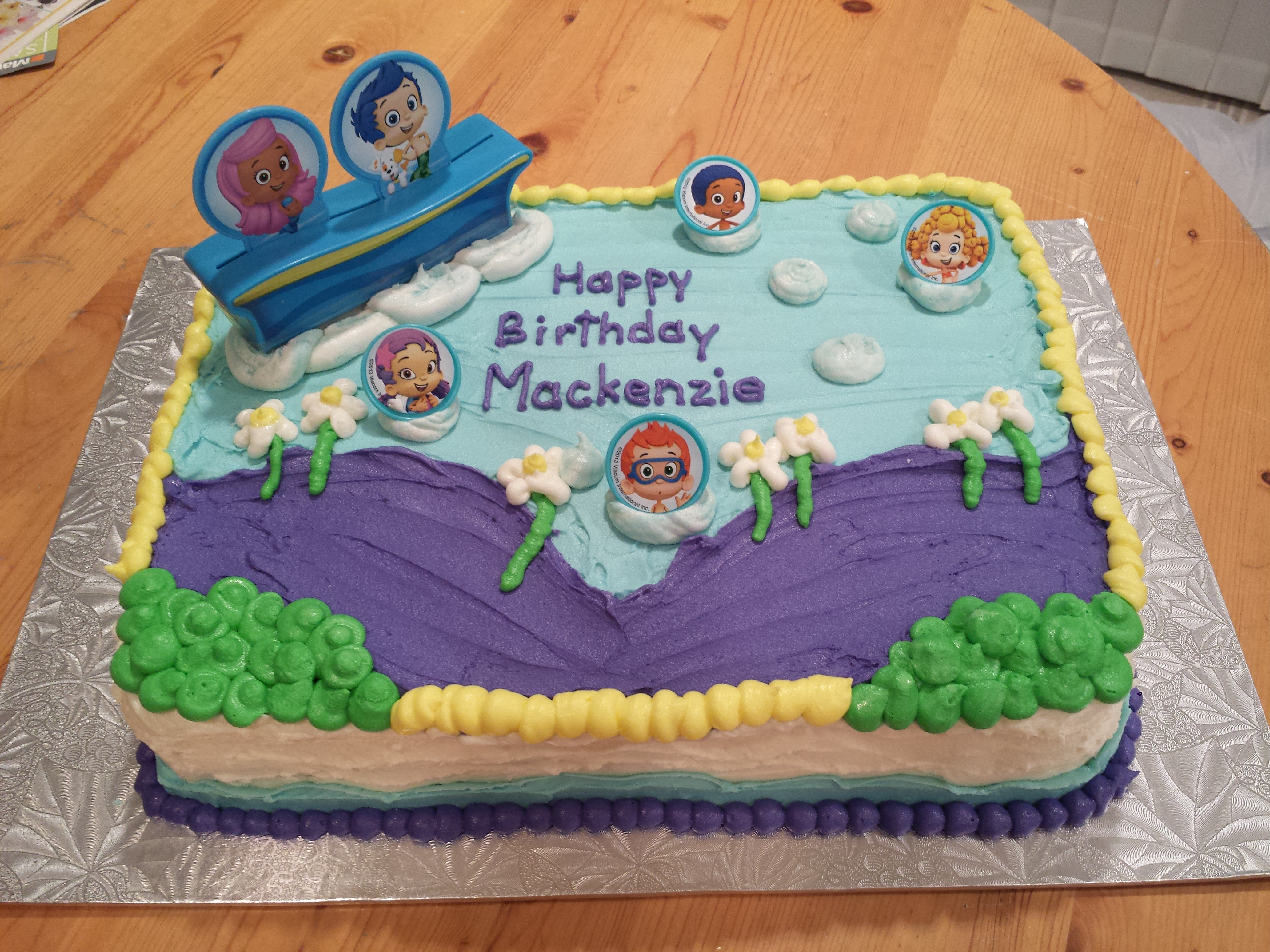 Bubble Guppies Cake Ericas Edibles