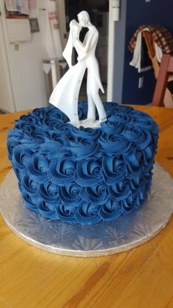Rosette Wedding cake