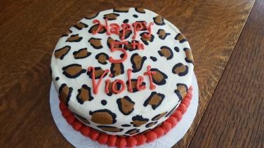 cheetah cake