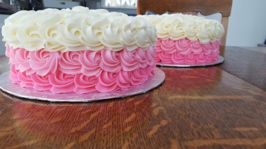 ombree Cake