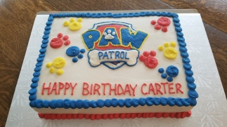 Paw patrole Cake