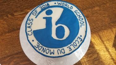 IB Class cake